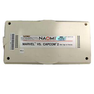 Sega NAOMI Marvel Vs. Capcom 2 New Age of Heroes Rev A Cart