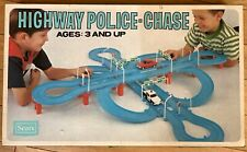Highway Police Chase, Sears, 1970's