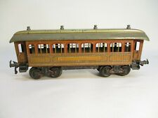 Bing Pullman Coach Car Wood Litho Prewar 1 Gauge Germany X4625
