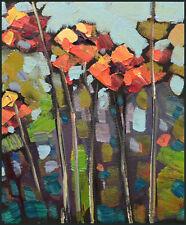 Wm HAWKINS Flowers Impressionsim Tonalist Illustration Sketch Oil Painting Art