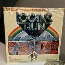 LOGAN'S RUN - Deluxe Letterbox Edition Laserdisc LD - Michael York - EX