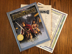 FRE3 WATERDEEP 1989 Dungeons & Dragons 2nd Edition Module Excellent: COPIED MAP