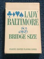 Vintage Lady Baltimore Bridge Playing Cards -52 cards and 2 Jokers