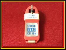 NOS Genuine Elac KST-104 Cartridge with Needle/Stylus e1003 139 1639 19 100 RARE