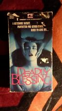 Deadly Blessing vhs