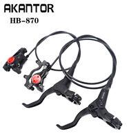 AKANTOR HB-870 Hydraulic Disc Brake for Mountain Bike MTB Front & Rear Set