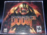 DOOM 3 ID Software PC CD-ROM 2004  3 disk