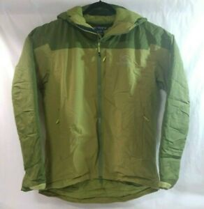Arc'teryx Mens Kappa Hoodie Windstopper Size L Green Windproof Water Resistant