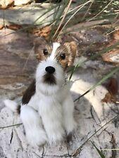 Realistic Miniature Puppy Dog Pal Furry Animal * Fairy or Doll Pet * Gift Idea