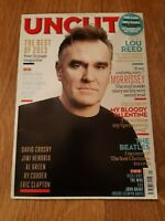 UNCUT MAGAZINE ( JANUARY 2014 ) MORRISSEY NICK LOWE THE WHO LOU REED RY COODER