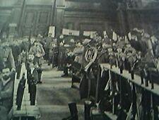 news item WW1 brussels germans billet palace justice