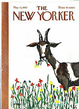NEW YORKER MAGAZINE ORIGINAL COVER DATED 13 MAY 1967