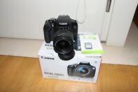 Fotocamera Canon EOS 1300d reflex digitale wifi + obiettivo 18-55 2300 scatti