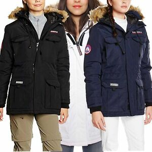 Geographical Norway Alcatras Damen Jacke Winterparka Parka Mantel Warm Outdoor