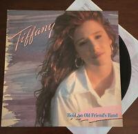 Tiffany - Hold An Old Friend's Hand 1st Press Vinyl Greek '88 LP ORG Rare EX/VG+