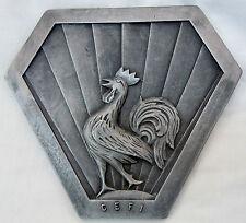Relique plaque alu CEF Italie 1943 CORPS EXPEDITIONNAIRE FRANCAIS ORIGINAL WWII