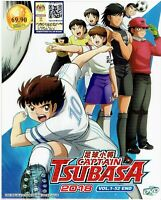 CAPTAIN TSUBASA 2018 - COMPLETE ANIME TV SERIES DVD BOX SET (1-52 EPIS)