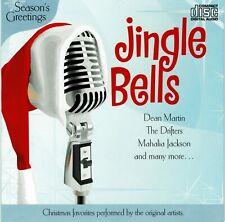Jingle Bells Christmas Music CD Carols Dean Martin Drifters Lombardo Clooney