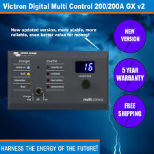 Victron Digital Multi Control 200/200A GX - Remote Control and Monitoring