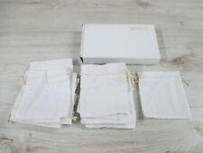 22 Stück Baumwollsäckchen mittel Schmuckbeutel Weiß 15,0cm x 10,0cm Schmuck