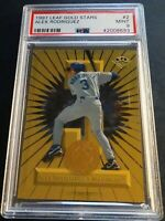 1997 ALEX RODRIGUEZ LEAF GOLD STARS #2 PSA 9 MARINERS 935/2000 POP 3 (721)