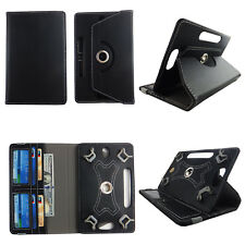 "8 INCH TABLET CASE 8"" UNIVERSAL FOLIO STANDING COVER ARTISTIC BLACK"