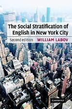 The Social Stratification of English in New York City, Foreign Languages, Words