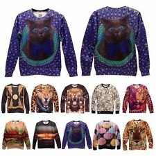 Unbranded Animal Print 3D Theme T-Shirts for Men