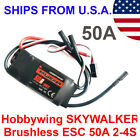 Hobbywing Skywalker Brushless ESC 50A 2-4S Electric Speed Controller Aircraft RC