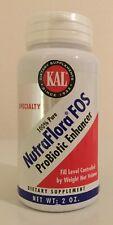 NutraFlora FOS Kal 2 oz Powder Sealed EXPIRED