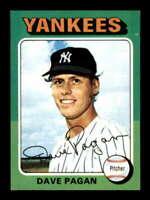 1975 Topps #648 Dave Pagan NM/NM+ RC Rookie Yankees 504032
