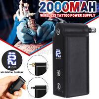 Mini Tattoo Wireless Digital Power Supply Tool For Tattoo Machine RCA/DC