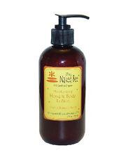 The Naked Bee ORANGE BLOSSOM HONEY Natural Hand & Body Lotion 8 oz. Pump Organic