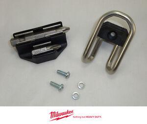 NEW Milwaukee M18 18V Impact Driver Drill 2601-20 BELT HOOK CLIP + BIT HOLDER