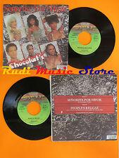 LP 45 7'CHOCOLAT'S Senorita por favor People's reggae 1979 italy DERBY cd mc*dvd