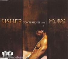 USHER - Confessions Part II/My Boo (ft ALICIA KEYS) (UK 2 Trk CD Single Pt 1)