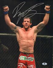 RYAN BADER SIGNED AUTO'D 11X14 PHOTO BAS BECKETT COA UFC TUF 8 WINNER 144 192 J