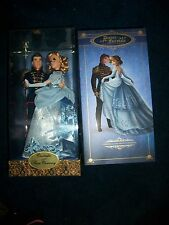 Disney Fairytale Cinderella & Prince Designer Collection Doll Sets LE 2nd