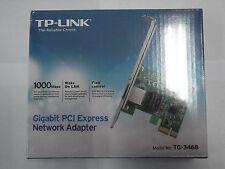 TP-LINK TG-3468 Scheda di Rete Gigabit PCIe 10/100/1000Mbps,Interfaccia 32-bit