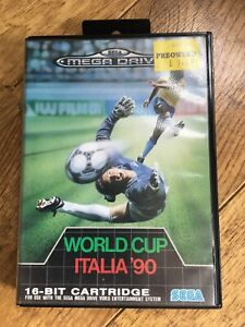 World Cup Italia 90 Megadrive Game! Look In The Shop!