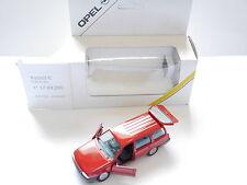 Opel Kadett E Caravan Kombi break rot rouge roja rosso red, GAMA 1:43 DEALER!