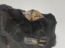 QUIASTOLITA - Chiastolite - Mirabel, Caceres - SPAIN MINERAL COLECCION 9x6x2