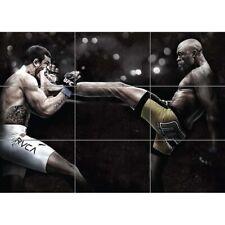 Anderson Da Silva The Spider Mixed Martial Arts Ufc Giant Poster Print