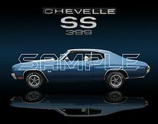 1970 Chevelle SS396 Print