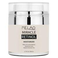 MELAO Retinol Moisturizer Face Cream Anti-aging Face Eye Area Vitamin E Fac K0T5