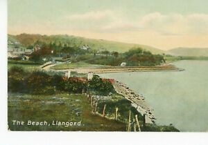 """"""" WALES """" ANGLESEY     LLANGOED         BEACH              1911"""