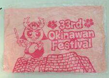 33rd okinawan Festival hawaii pink hand dish towel