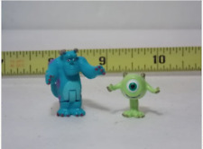 Monsters Inc Sully & Mike Character Figure Disney Miniatures Fairy Garden Model