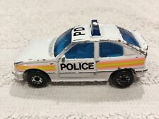 Matchbox Toy Car 1985 Vauxhall Astra GTE1 Opel Kadett GSi Police