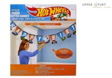 Hot Wheels Wild Racer Jumbo Banner Add an Age Birthday Banner Party Supplies